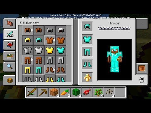 MCPE 1.2 FEATURES GAMEPLAY - Official Minecraft Better Together Update - Minecraft Pocket Edition