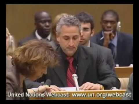 U.N. Surprise: Victim of Qaddafi Torture Confronts Libyan Chair of Durban 2
