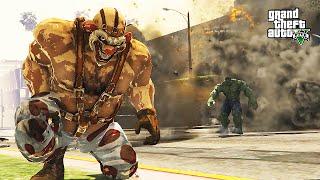 Sweet Tooth (Needles Kane) VS Hulk (GTA 5 Mods Funny Moments)