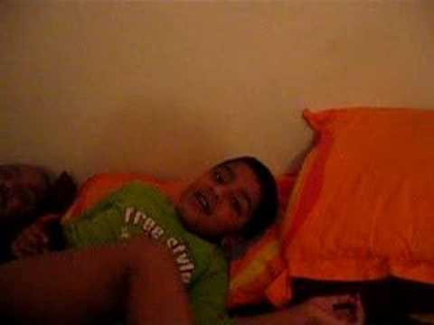 see my son rishi singing hindi songs in english tone