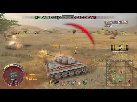 World of Tanks Xbox one Tiger I Hammer 3 Kills (M)