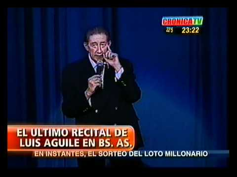 Thumbnail of video Luis Aguilé - Señor Presidente (Vivo)