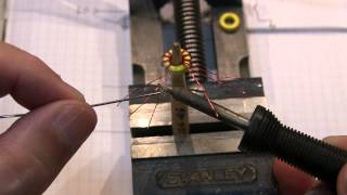 #166: How to wind a trifilar toroid transformer for a diode ring mixer