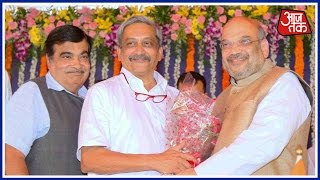 Khabare  Superfast: Manohar Parrikar Becomes Goa's Chief Minister For The Fourth Time
