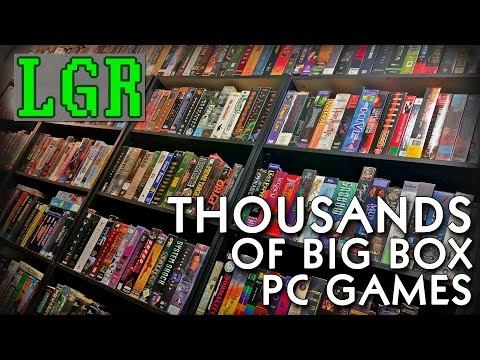 LGR - My PC Game Collection (3.000+ games)