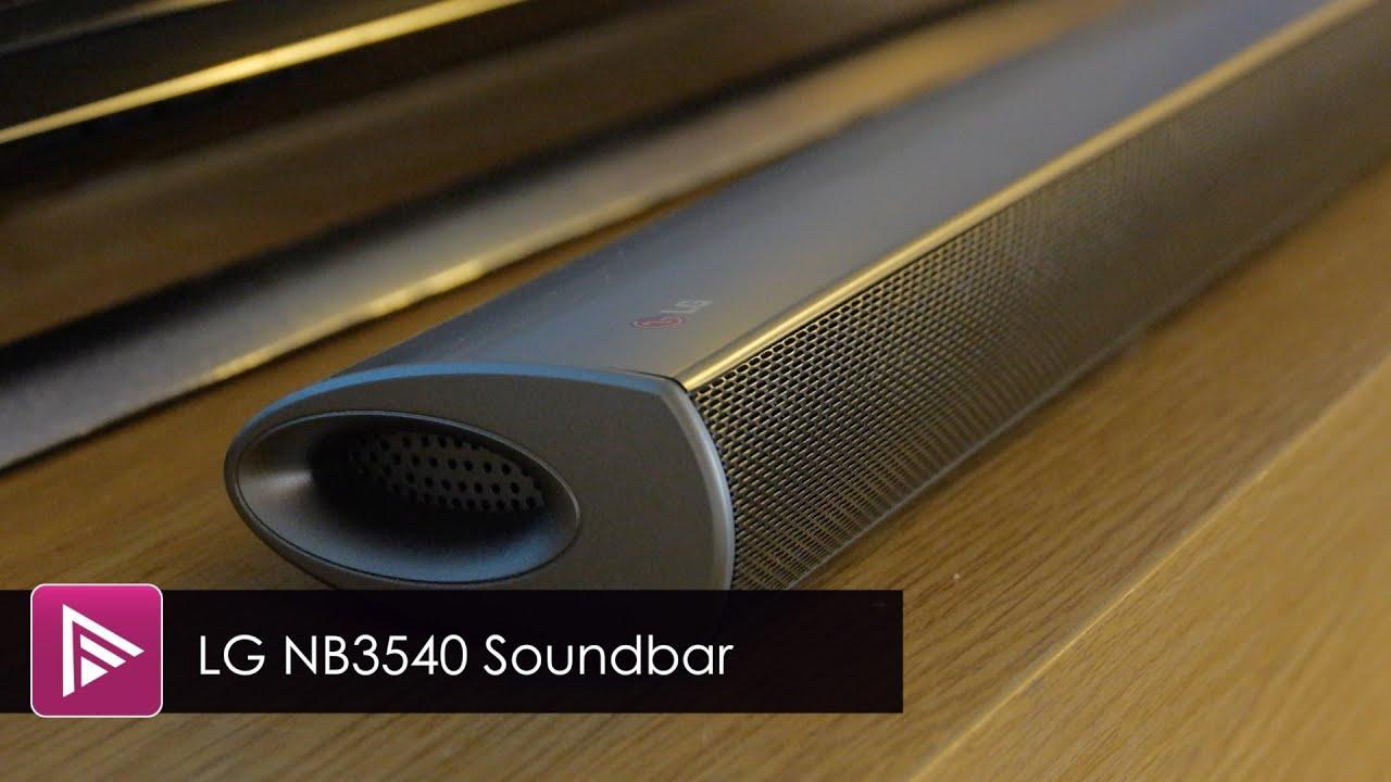 Lg Nb3540 Soundbar Review Youtube