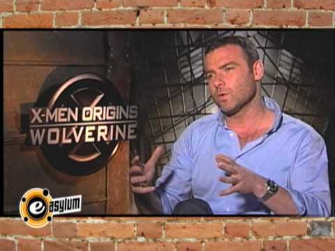 Liev Schreiber (Sabretooth)'s Sick Workout & More