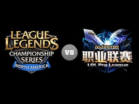 NA LCS vs China LPL Game1 - All-Star 2013 D1