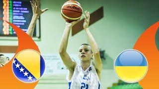 Bosnia and Herzegovina v Ukraine - Full Game - FIBA U16 European Championship Division B 2018