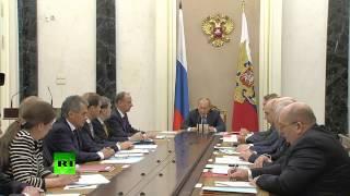 Владимир Путин: На Украине не утихает гражданская война