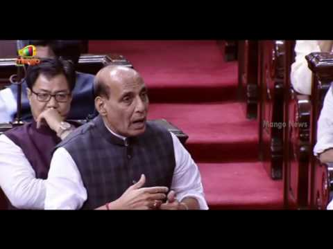 Rajnath Singh Full Speech | Jammu Kashmir Violence Row | Rajya Sabha | Parliament Session