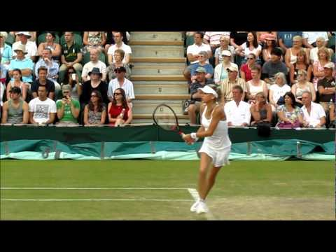 Anna Kournikova and Martina Hingis Wimbledon 2010 (part 1)