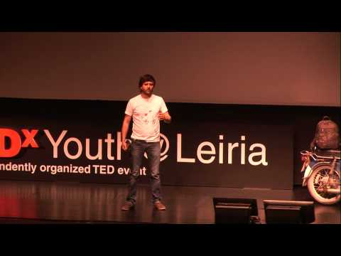 Encontrar a felicidade na nossa identidade | Bruno Gaspar | TEDxYouth@Leiria