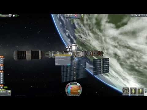 Kerbal Space Program - Station Science Mod - Making Stations Make Sense