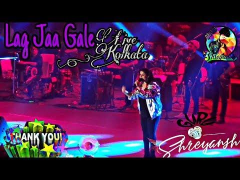 Download Lagu  Lag Jaa Gale - Ye Jo Halka Halka - Pehla Nasha feat. Sunidhi Chauhan Live in Kolkata ♥ 2018 Mp3 Free