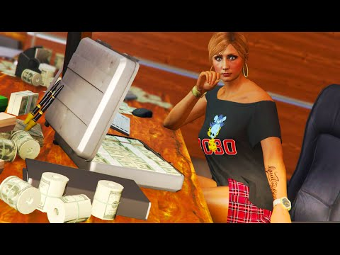GTA 5 Online - BUYING & SELLING CONTRABAND AS A CEO & MAKING MONEY FAST ONLINE!