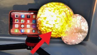 Can iPhone XR Survive Giant UNDERWATER Firework? Crazy 10,000 FPS Slow Motion!