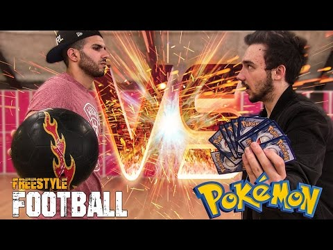 FOOTBALL VS POKEMON CHALLENGE ! DavidLafargePokemon en PLS !