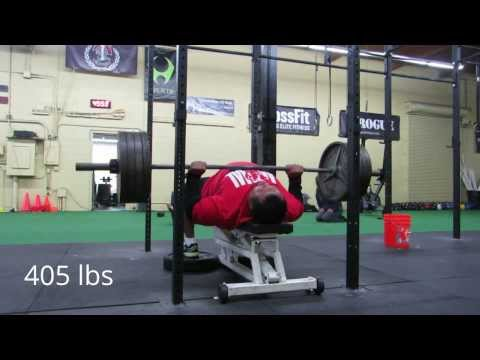 HIGA MONSTER bench press workout 1/29/14 for RUM 7 Image 1