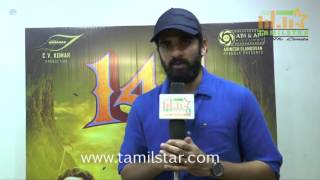 Ashok Selvan At 144 Movie Team Interview