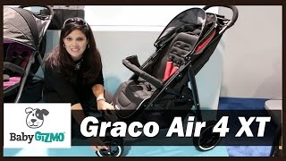 Graco Aire 4 XT Stroller Sneak Peek and Demo by Baby Gizmo