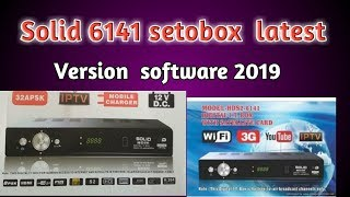 Solid 6141 New Software Alphabox x4