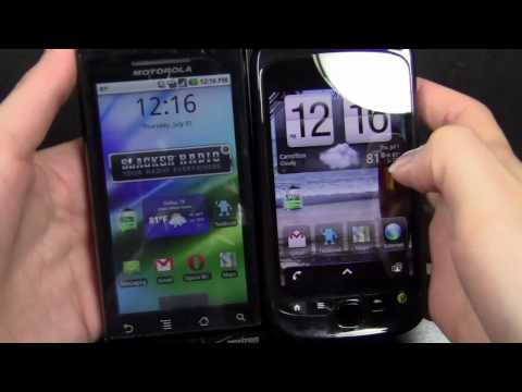 Video: Motorola Droid vs myTouch 3G Slide Part 1