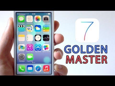 Installer gratuitement iOS 7 Golden Master sur iPhone. iPod touch & iPad sans compte développeur
