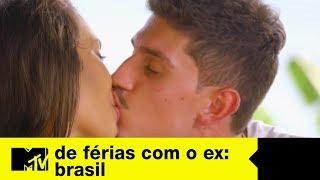 Novo casal? O clima esquenta entre Ste e Cleber   De Férias Com O Ex Brasil Ep. 08