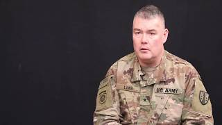 Army Reserve Support Commander Visits Deployed Troops