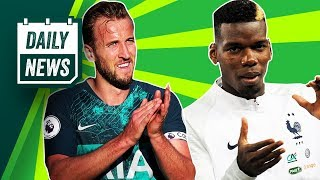 Real Madrid's NEW manager, Martial and Pogba OUT + West Ham's Nasri gamble ? Onefootball Daily News