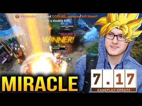 Miracle Invoker God Return - Destroying EU Dota Sever