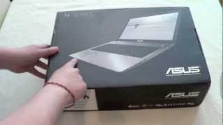 ASUS N56VZ Unboxing