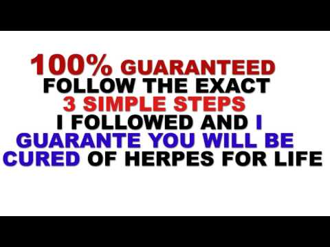 Herpes Cure - Guaranteed Cure For Herpes