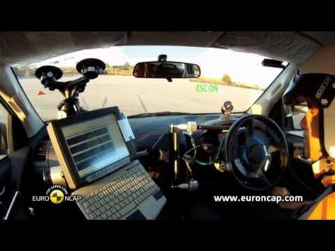Euro NCAP | Isuzu D-Max | 2012 | Электронный контроль устойчивости