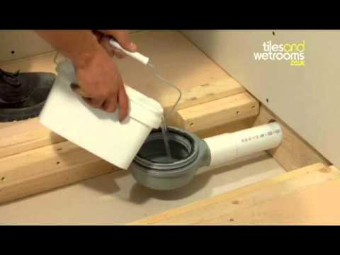 Wet room installation video youtube for How to fit a wet room floor
