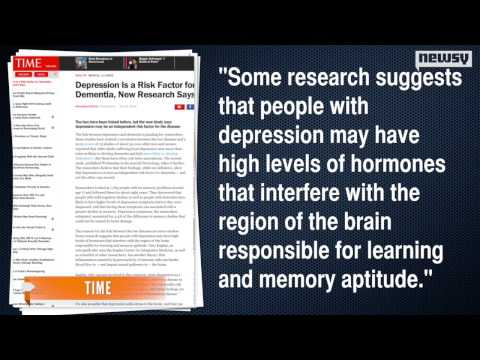 Depression Contributes To Dementia In Older Adults
