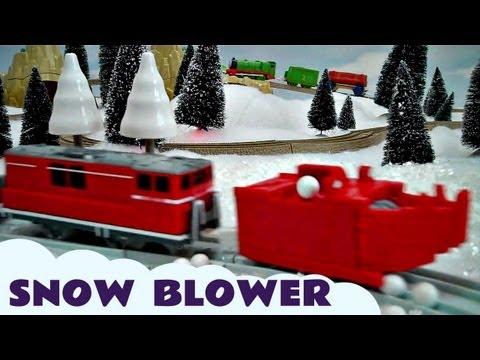Tomy Takara Thomas & Friends Snowblower Kids Toy Train Set Thomas The Tank Engine