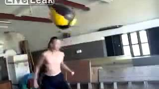 How Not To Work A Punchbag Boxing Fail