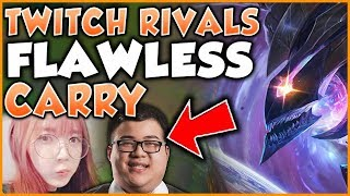 TWITCH RIVALS INSANE KHA'ZIX CARRY FT. SHIPHTUR, SCARRA, LILYPICHU - League of Legends