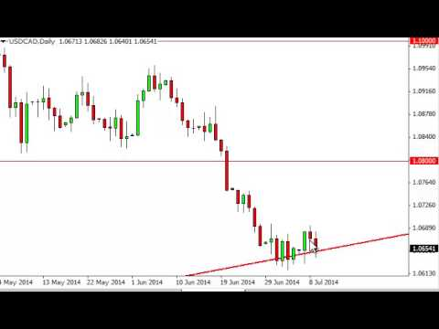 USD/CAD Technical Analysis for July 10, 2014 by FXEmpire.com