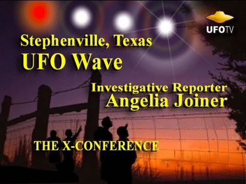 Stephenville TX - UFO Wave - Angelia Joiner LIVE at the X-Conference