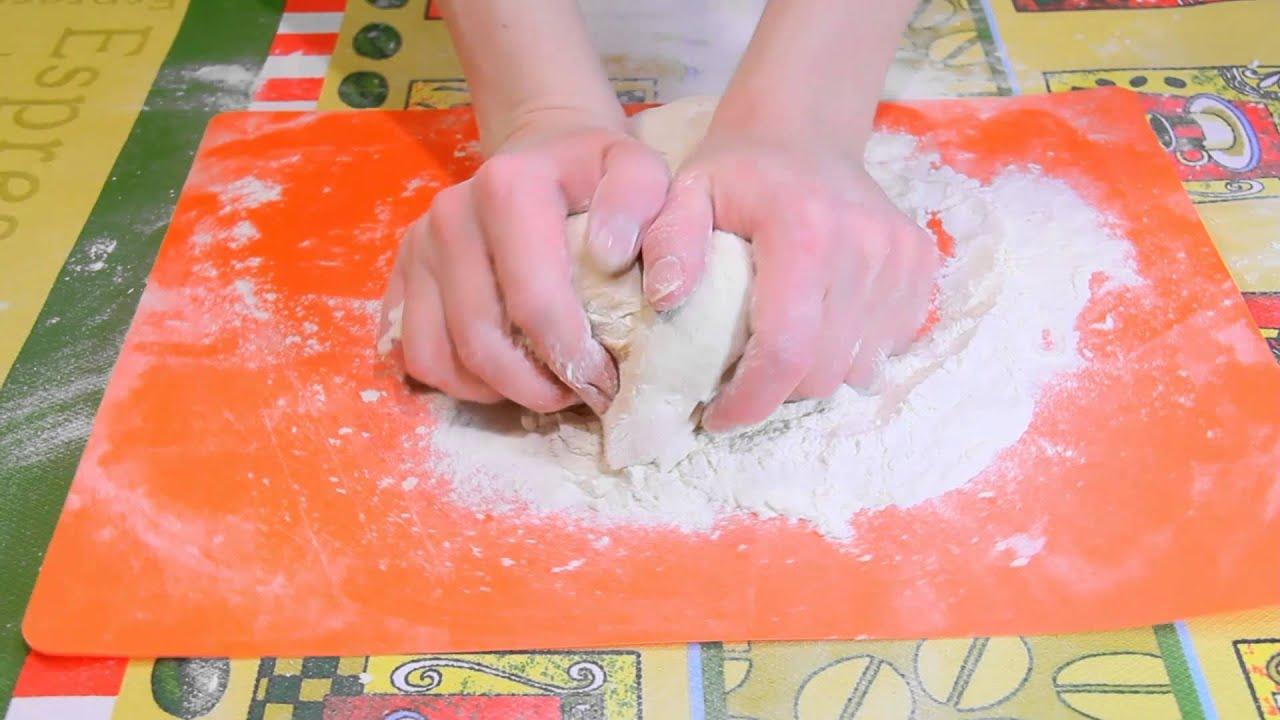 Вкусное тесто для чебуреков пошагово с фото