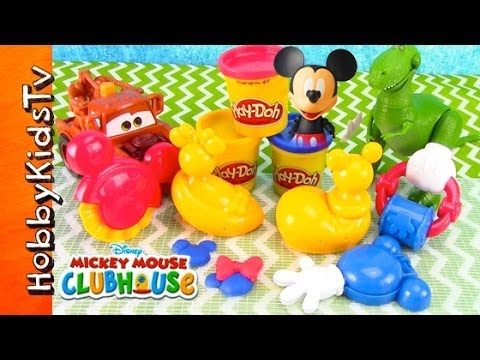 Disney PLAY-DOH Mickey Mouse Clubhouse Mouskatools [Box Open] [Toy Review] Mater. Rex Help