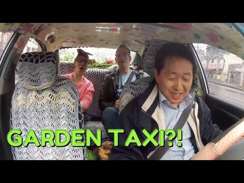 Riding the Garden Taxi with Daily Planet/Discovery Channel