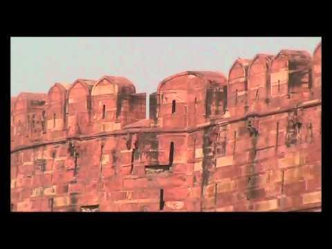 Agra Fort (आगरा का किला) located in Agra, Uttar Pradesh, India.