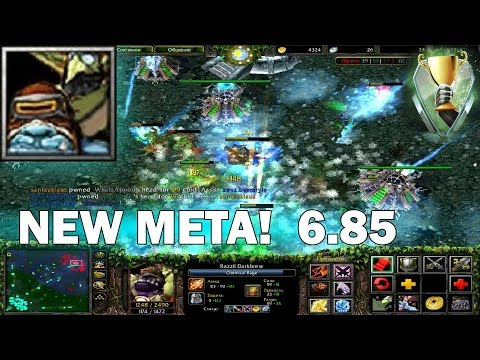 Zevz.Freestyle DOTA 1 - Razzil Darkbrew, Alchemist | 6.85 NEW META! #17
