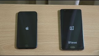 Apple iPhone 7 vs OnePlus 3 - Speed Test!
