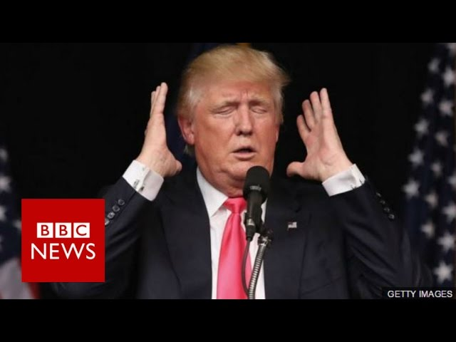 Is Donald Trump a danger to national security? BBC News
