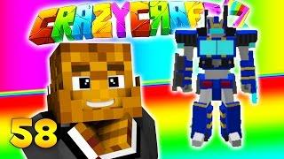 Minecraft CRAZY CRAFT 3.0 - SUBWOOFER Transformer Mod #58